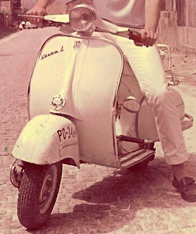 Vespa 125L original hace 3X a&ntilde;os